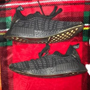 adidas Shoes - black NMD's